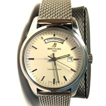 Breitling Transocean Day & Date Steel 43mm Silver United States of America, California, lafayette