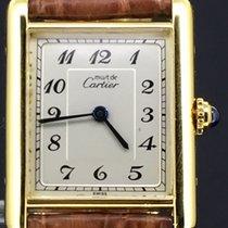 Cartier Tank Vermeil Gold-Plated, 23MM Quartz, MINT