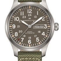 Hamilton Khaki Field Day Date new Automatic Watch with original box and original papers H70535081
