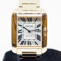 Cartier Tank Anglaise Rose gold 36mm Silver Singapore, Singapore