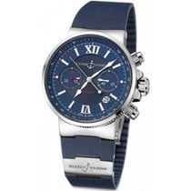 Ulysse Nardin Steel 41mm Automatic 353-66-3/323 new United States of America, New York, New York