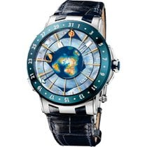Ulysse Nardin 46mm Automatic pre-owned Moonstruck Blue