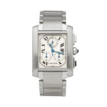 Cartier Tank Française W51001Q3 or 2303 2000 pre-owned