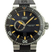 Oris Steel 48mm Automatic Aquis pre-owned