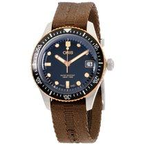 Oris Divers Sixty Five Steel 36mm Black United States of America, New York, Brooklyn