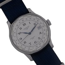 Longines Master Collection Steel 39mm White Arabic numerals