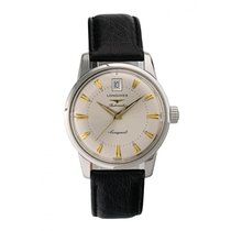 Longines Conquest Heritage Steel 35mm Silver United States of America, New York, New York