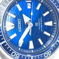 Seiko new Automatic Rotating Bezel Screw-Down Crown Steel Mineral Glass