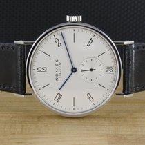 NOMOS Tangomat Datum Stahl 38mm Silber Deutschland, Prüm