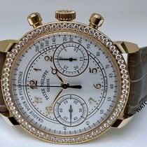 Patek Philippe Chronograph Oro rosado 38mm Plata