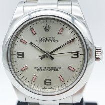 Rolex Oyster Perpetual 31 Stahl 31mm Silber