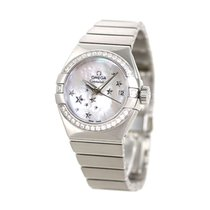 Omega Constellation Ladies Steel 30mm White
