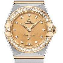 Omega Constellation Quartz Or/Acier 25mm Jaune