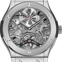 Hublot Classic Fusion 45, 42, 38, 33 mm 505.TX.0170.LR New Platinum Manual winding United States of America, New York, Brooklyn