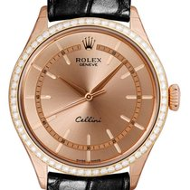 Rolex 50705RBR Rose gold 2018 Cellini Time 39mm new
