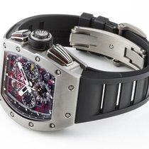 Richard Mille Felipe Massa Micro Sandblast Titanium Chronograph