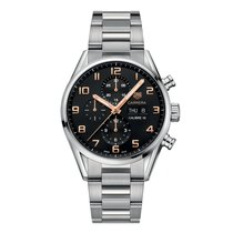 TAG Heuer Carrera Calibre 16 Automatic Chronograph 43mm Mens...