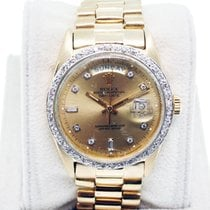 Rolex Day-Date Presidential 1803 Champagne Diamond Dial...