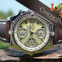 Breitling 18kt Weißgold Chronomat von 2012, MOP, B&P, RARITÄT