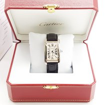 Cartier American Tank  BOX AND PAPERS Automatic W2603256 Mens...