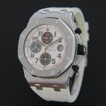 Audemars Piguet Chronograph 42mm Automatic 2009 pre-owned Royal Oak Offshore Chronograph Silver