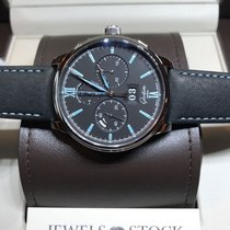 Glashütte Original Senator Chronograph Panorama Date Acier 42mm Noir Romain