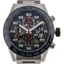 TAG Heuer Carrera Calibre HEUER 01 Steel 45mm Transparent