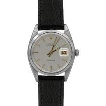 Rolex Oysterdate Precision, Ref.#6694, Blk Leather, 12m Warranty