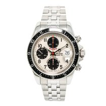 Tudor Tiger Prince Date 79260 Mens Automatic Watch White Dial...