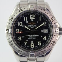 Breitling SuperOcean A17340 #A3392 mit Stahlband