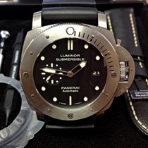 Panerai Luminor Submersible 1950 3 Days Automatic Titanium 47mm Black No numerals United Kingdom, Wilmslow