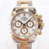 롤렉스Daytona,중고시계,40 mm,금/스틸