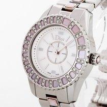 Dior 29mm Quarz 2005 gebraucht Christal Perlmutt