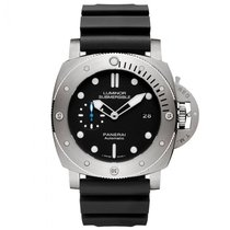 Panerai Luminor Submersible 1950 3 Days Automatic Titanium 47mm Black No numerals United States of America, Georgia, Alpharetta