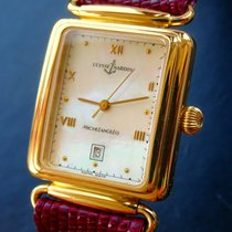 Ulysse Nardin Yellow gold Automatic Mother of pearl Roman numerals 26mm pre-owned Michelangelo