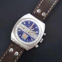 BWC-Swiss Chronograph 43,5mm Automatic 1972 pre-owned Blue
