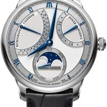 Maurice Lacroix Masterpiece new Automatic Watch with original box and original papers MP6588-SS001-131-1