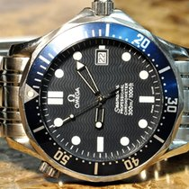 Omega Seamaster Diver 300 M 41mm Automatic Blue Wave Dial