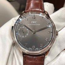 IWC Portuguese Minute Repeater Aur alb
