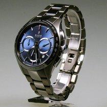Rado Chronograph 45mm Automatik neu HyperChrome Chronograph Blau