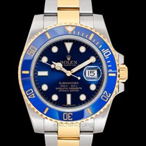 Rolex Submariner Date pre-owned Yellow gold