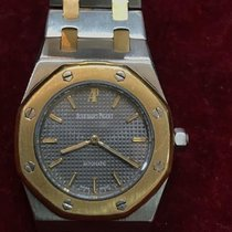 Audemars Piguet Royal Oak Acero y oro 30mm Gris