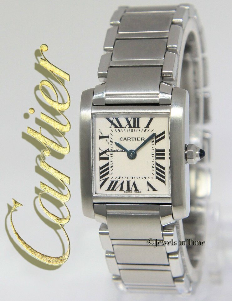 dba2b6db6c0 Cartier Tank Francaise Stainless Steel Quartz Ladies Small... for ...