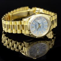 Rolex Lady-Datejust Yellow gold 28mm Blue United States of America, California, San Mateo