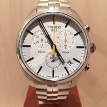Tissot PR 100 Steel 41mm White