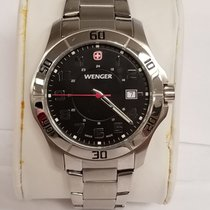 Wenger Stal 42mm Kwarcowy 70487