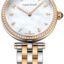 Louis Erard Romance Steel 33mm Mother of pearl