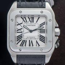 Cartier Santos 100 używany Skóra