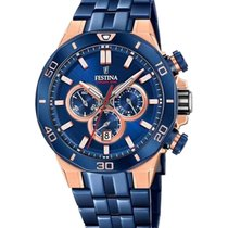 Festina Steel 45mm Quartz F20452/1 new