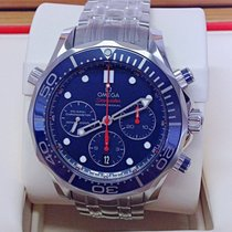 Omega Seamaster Diver 300 M new 2019 Automatic Chronograph Watch with original box and original papers 212.30.44.50.03.001